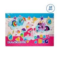 Kiky Little Pony Set Buku Gambar [10 Buku / 20 X 30 Cm]