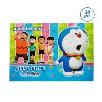 Kiky Doraemon Set Buku Gambar [10 Buku / 20 X 30 Cm]