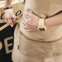 OBRAL MURAH Apron Canvas and Synthetic Leather (Celemek),