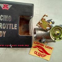 Racing Throttle Body 33mm Dual Injektor+Gas Spontan SYS Malaysia Origi
