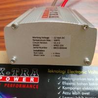 Volt Stabilizer Mobil penstabil tegangan listrik mobil Garansi 1 Tahun