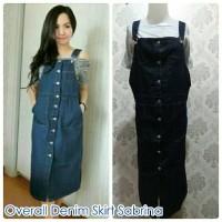 Jual Overall Denim Skirt Sabrina Murah