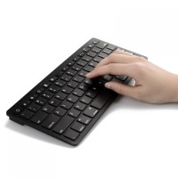 Bluetooth Keyboard Ultra Slim for iOS Android PC