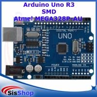 ARDUINO UNO R3 SMD MEGA328P CH340G BOARD (NO USB KABEL) TANPA KABEL