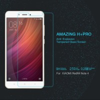 Jual Nillkin H+ Pro Tempered Glass Anti Gores Xiaomi Redmi Note 4 Murah