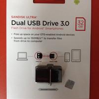 Flashdisk Sandisk 32 Gb Dual USB Drive 3.0 OTG Sandisk Ultra Micro USB