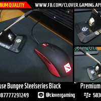 Mouse Bungee Steelseries Hitam || Wireless Razer Logitech Mousepad