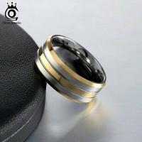 Cincin platinum gold kombinasi mewah / cincin kawin tunangan