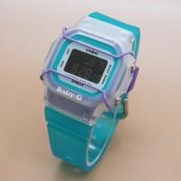 Jam Tangan Wanita Casio Baby G-Shock BGD-500 (Green White Purple)
