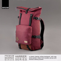 Jual Rayleigh Harrier Marun Free Raincover Tas Carrier Backpack Hiking Ori Murah