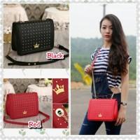 Tas Import Wanita Fashion Korea Jestina Red 2288