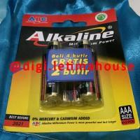 Batu baterai / Battery / Batere / Batre Alkaline AAA ABC 6 ( 4 + 2) pc