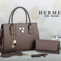 Tas Wanita Tas Hermes Lorence 1638# Kerja Branded Replika