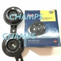 Klakson Motor Hella Double Compact Horn Disc 12V