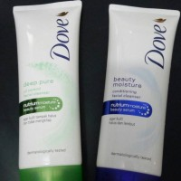 Dove facial cleanser nutrium moisture beauty serum 50gr - kecil