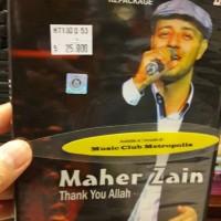VCD MAHER ZAIN - THANK ALLAH