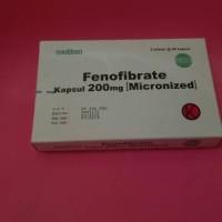 FENOFIBRATE 200 MG ( PRODUKSI : MEDIKON )
