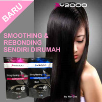 Y2000 Hair Straightening Plus System 2 X 125ml