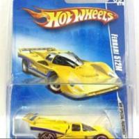 Hot Wheels Ferrari 512M Yellow