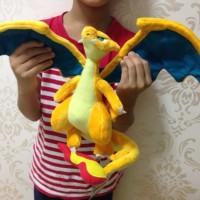 006 Boneka Mega Charizard 30cm Boneka Pokemon