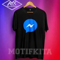 Tshirt / Baju / Kaos MESSENGER / FACEBOOK / FB simple elegant keren