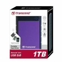 Jual Harddisk Eksternal Hard DIsk HDD External Transcend StoreJet 25H3 1TB Murah