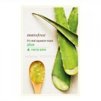 innisfree it's real squeeze mask #aloe