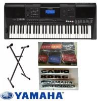 Keyboard Yamaha PSR E 453 + Stand X + Tas Yamaha + Cover