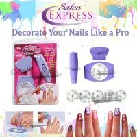 Salon Express NEW / Nail Art Stamping Kit PENGHIAS KUKU