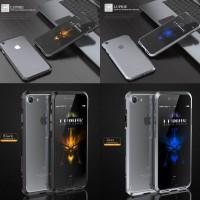 Luphie Blade Metal Sword Aluminum Screw Phone Bumper Case for iPhone 7