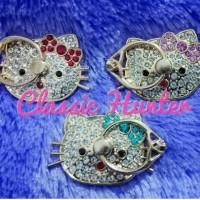 Iring Hello Kitty Diamond / Ring Stand Holder Besi Karakter 360