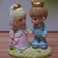 TOPPER KUE / WEDDING CAKE / PRECIOUS MOMENTS / PAJANGAN 15CM PM03
