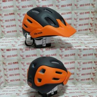harga Helm Folker The Ride Black/orange Tokopedia.com