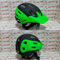 harga Helm Folker The Ride Black/green Tokopedia.com
