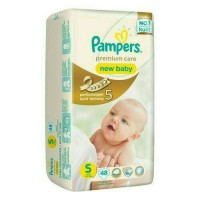 Pampers premium care taped S48 / S 48 / S-48