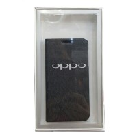 Book Cover For Oppo Find Muse (R821) - Hitam