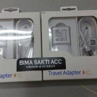 charger ori samsung fast charging note 4, note 5 s6 s7 type hp terbaru