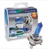 Bohlam / Lampu Philips Diamond Vision H4,H1,H3, Dll