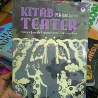 KITAB TEATER - N. RIANTIARNO