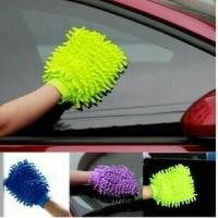 Jual Microfiber Sarung tangan Lap Cuci Mobil Motor Murah