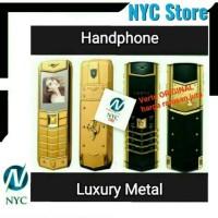 Handphone Luxury Metal Like Vertu Dual Sim