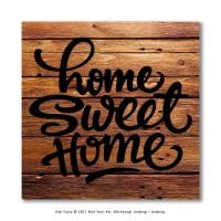 Jual Hiasan Gantungan Dinding Rumah - HomeSweetHome Wall Sign Murah