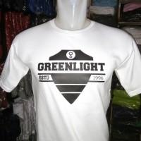 Best Seller kaos Baju T-shirt green light