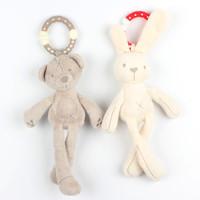 Jual Mainan Bayi Rattle Stroller Murah - Kelinci dan Teddy Bear Murah
