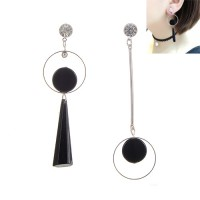 Jual KE77665 Anting Gemstone Hitam Murah