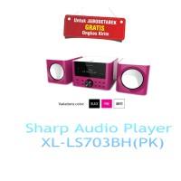 SHARP AUDIO PLAYER XL-LS703BH(PK)