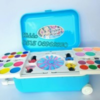mainan koper meja rias - alat make up asli Diskon