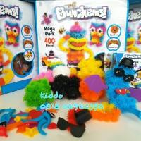 Bunchems Mega pack 400pcs - magic ball-sticky ball Diskon