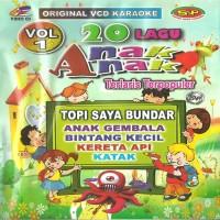 """VCD Karaoke Original """"20 Lagu Anak Terlaris Terpopuler Vol 1"""""""