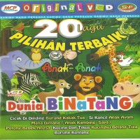 "VCD Karaoke Original ""20 Lagu Terbaik Pilihan Anak Dunia Binatang"""